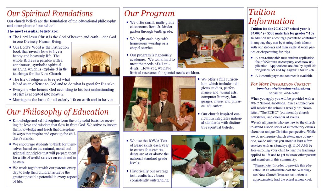 Brochure 2016 inside