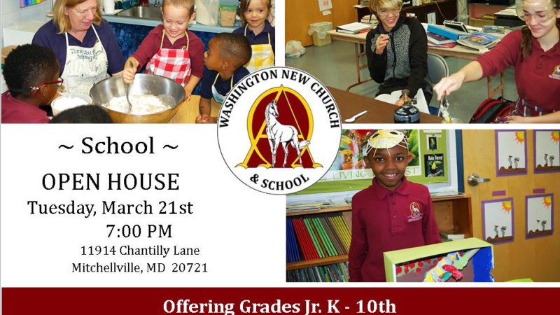 Open House March 21, 2017 – 7:00 PM